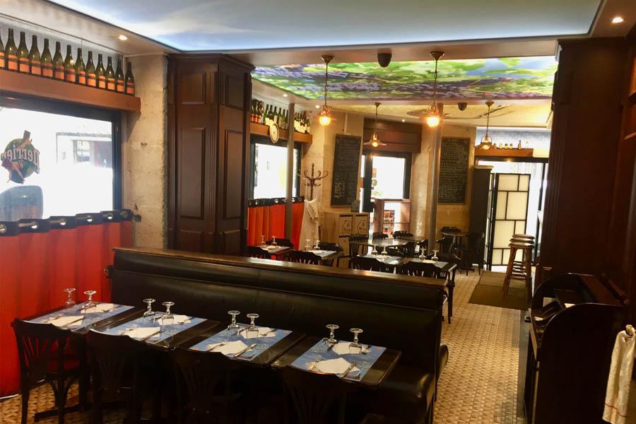 Le Coin Paris - salle du restaurant