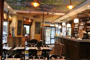 Le Coin Paris - salle du restaurant et bar